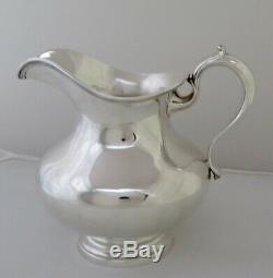 Pitcher Vintage Whiting Sterling Silver Water