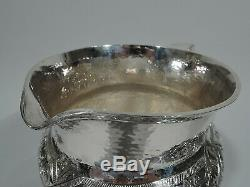 Pitcher Whiting Eau 1385a Antique Artisan American Silver Sterling