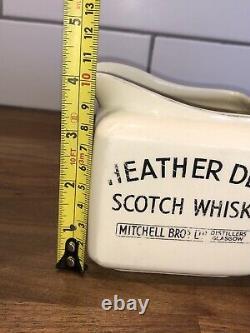 Rare Heather Dew Scotch Whiskey Mitchell Bros Glasgow Publicisant Pub Eau Jug