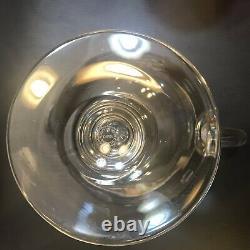 Saint Louis Bubbles Water Pitcher Jug Crystal Original Label Au Détail 770 $