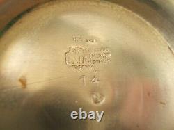 Sanborns Sterling Silver Water Pitcher Art Déco Design 736g