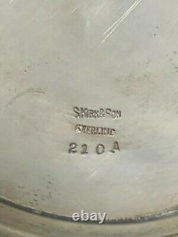 Skylark By S. Kirk & Son Sterling Silver Water Pitcher 8 1/4 De Haut