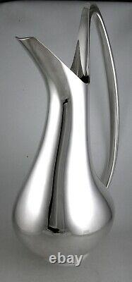 Sterling Georg Jensen'swan' Grand Lanceur D'eau Par Henning Koppel N ° 1052
