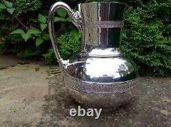 Stunning Rare C1866 Antique Tiffany & Co Silver 19ème Siècle Jug / Pichet