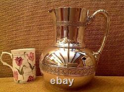 Superbe Rare C1866 Antique Tiffany & Co Silver 19th Century Water Jug / Pitcher