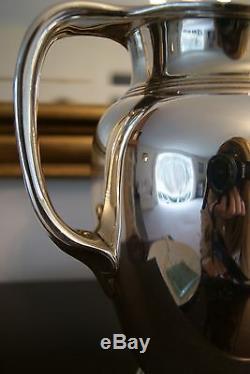 Superbe Tiffany & Co. En Argent Sterling Pichet Excellente Estate Aucune Monogram