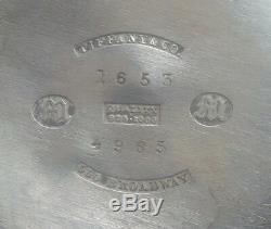 Tiffany & Co. En Argent Sterling Pitcher Eau, 19ème Siècle
