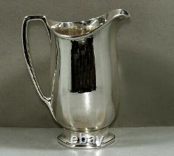 Tiffany Sterling Water Pitcher C1915 Travail Manuel Spécial