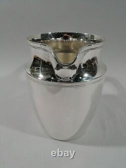 Tiffany Water Pichet 20211 Modern American Sterling Silver 1947/56