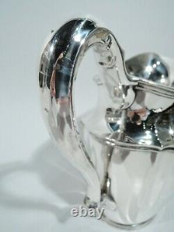 Tiffany Water Pitcher 14997d Heavy Traditional American Sterling Silver