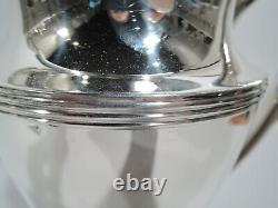 Tiffany Water Pitcher 18181 Art Déco American Sterling Silver 1947/56