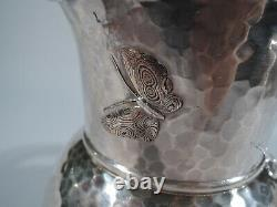 Tiffany Water Pitcher 3077 Antique Japonesque American Mixed Metal