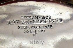 Un Pichet D'eau Sterling, Modèle De Bord D'onde, Tiffany & Co, C. 1884-91