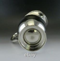 Vintage International Sterling Silver Water Pitcher 4 1/2 Pintes No Mono