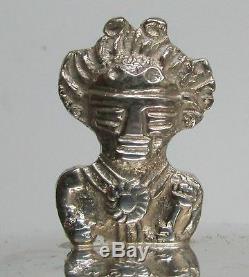 Vintage Pérou Crafted Argent Pitcher Eau