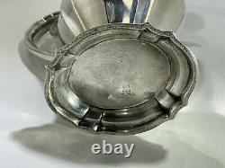Vintage Reed - Barton Sterling Silver Large Water/wine Pitcher 3.5 Pint 768 Grammes