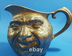 Vintage Sunny Jim/john Barleycorn Reed & Barton/savvy Pewter Jug Water Pitcher
