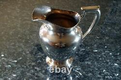 Wallace Sterling Silver 9 Water Pitcher Monogram Jft 660 Grammes Excellent